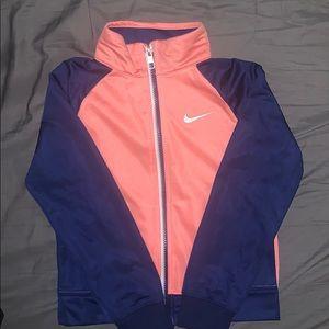 Nike track girls jacket (size 6T)